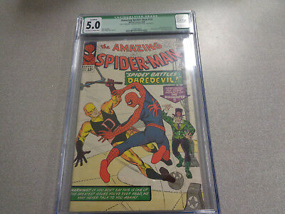 Amazing Spider-Man 16 Cgc Graded 5.0 Green Label  Off White Pages
