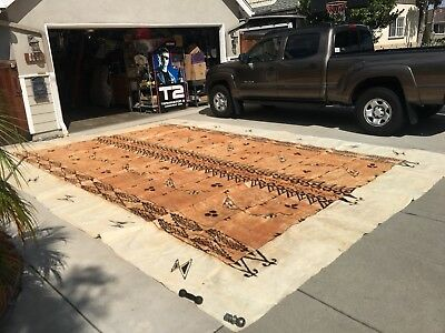 Rare Polynesian South Pacific Tapa Bark Cloth Hawaii 20 Feet HUGE ! Ceremony