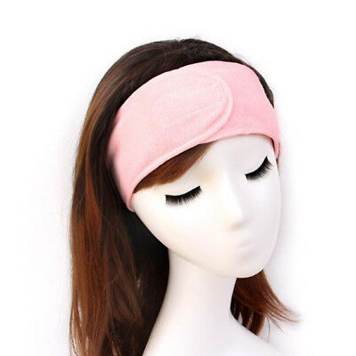 Spa Facial Headband Make Up Wrap Head Terry Cloth Headband Stretch Towel S