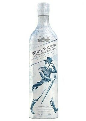 Johnnie Walker White Walker Game Of Thrones Limited Edition (rare)