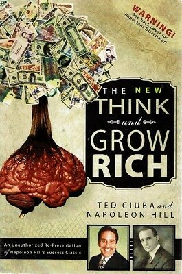 The New Think And Grow Rich by Ciuba Ted Hill Napoleon - Book - Soft Cover