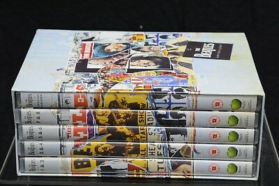 """Boxed Set of """"The Beatles Anthology """" Five DVD's. (SLD138)"""