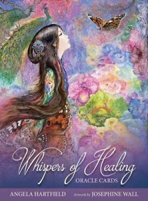 Whispers of Healing Oracle Cards by Angela Hartfield 9781925538267