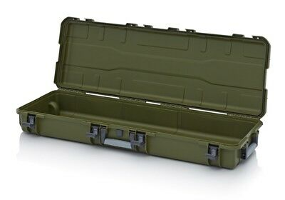 Storage case, Long c/w Wheels,  Great for Instruments,Photographic Equipment Etc