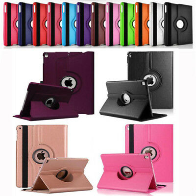 """360° Rotating Leather Smart Stand Case Flip Book Cover For iPad Pro 10.5"""" 2017"""