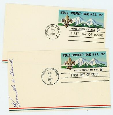 1967 World Jamboree - Special FDC