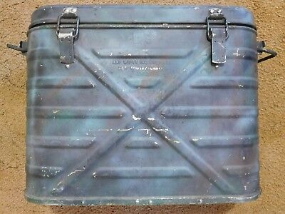 Us Military Amf Wyott Metal Products Food Container  Cooler