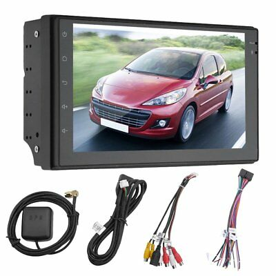 7inch 2DIN Android 6.0 Quad Core Car Mp5 Player Radio Stereo GPS NAV WIFI UK