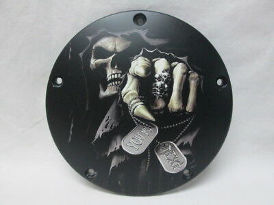 Harley Davidson Custom 5 Hole Derby Cover - Grim Reaper Your Next