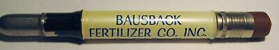 "Vintage Advertising ""Bausback Fertilizer Co. Inc"" BULLET Pencil"