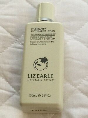 LIZ EARLE EYEBRIGHT SOOTHING EYE LOTION 150 Ml BN