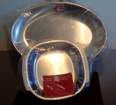 WMF Fraser's Cultura 18-8 Stainless Serving Tray and Bowl - Sweden- BRAND NEW
