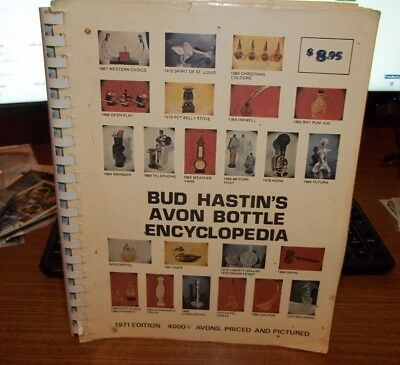 Bud Hastin's Avon Bottle Encyclopedia 1971 Edition