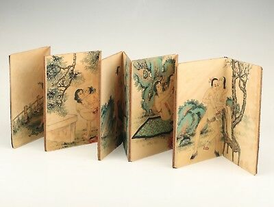 Precious Japanese Style Paper Books Old Hand-Painted Men Women Love Collection