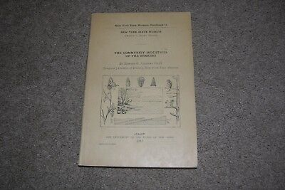 1933 Community Industries of the Shakers by Andrews, NY State Museum