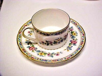 COLLECTIBLE Vintage Coalport Cup & Saucer Ming Rose Fine Bone China England M633