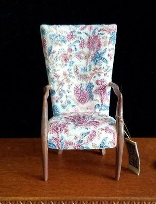Dollhouse Miniatures Willitts Take A Seat By Raine Mount Vernon Chair 1:12