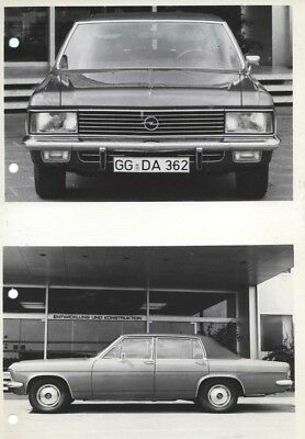 1970 Opel Admiral ORIGINAL Factory Photo oac0730