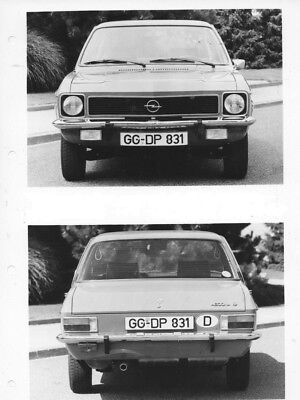 1970 Opel Ascona 19 L Four Door Sedan ORIGINAL Factory Photo oac0742