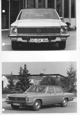 1969 Opel Diplomat ORIGINAL Factory Photo oac0762