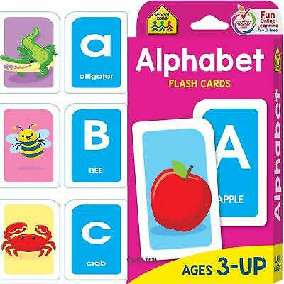 Flash Cards For Kids Alphabet Toddlers Early Learning Educational First Word Abc