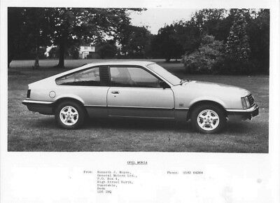1976 Opel Monza ORIGINAL Factory Photo oac0798