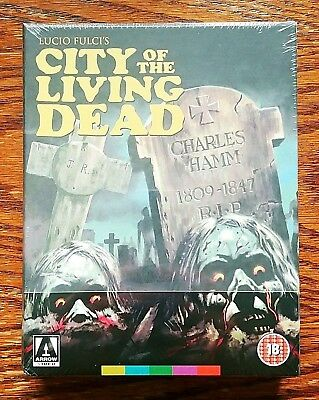 City of the Living Dead Blu-ray NEW Sealed Limited Arrow Video OOP REGION B