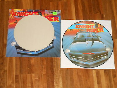 """Laser-Cowboys - PICTURE 12"""" Maxi - Theme From Knight Rider"""