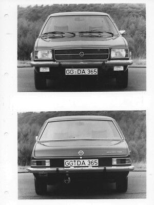 1973 Opel Rekford 1700L Sedan ORIGINAL Factory Photo oac0807