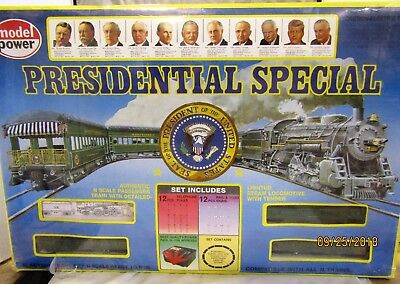 Model Power N Scale The Presidential Special Train Set #1159 New Factory Sealed