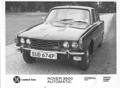 1969 Rover 3500 Automatic ORIGINAL Factory Photo oac0881