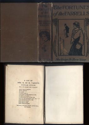 1918-28 THE FORTUNES OF THE FARRELLS , Mrs George De Horne Vaizey