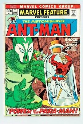 Marvel Feature Presents The Astonishing Ant-Man  #7 1973  G-VG