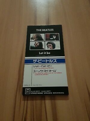 The BEATLES: Let It Be 3inch Maxi CD 80er im Gutem Zustand!!