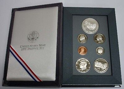1991 Prestige Proof Set - Mount Rushmore - US Mint