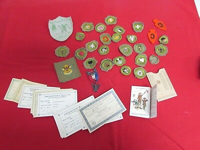 Pre-WWII US Boy Scout Eagle Scout grouping ID'ed to 1938 boy who became USN