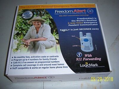 Freedom Alert. The Ultimate Personal Emergency Response System