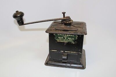 Antique Universal 109 Coffee Mill Grinder - Landers, Frary & Clark - Pat. 1905
