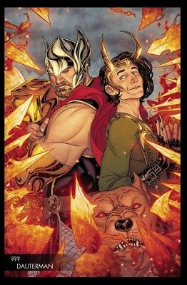 Thor (2018) #2 Young Guns Variant Cover Comic Book