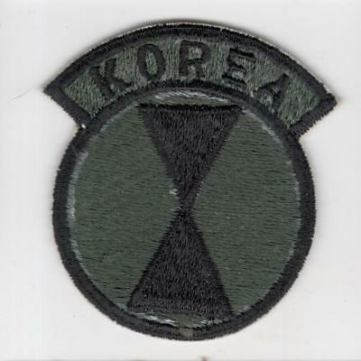 A009 Theater Made 7th Infantry Division KOREA Patch > 10 wins free US ship