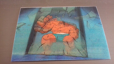 Marvel Motion Skybox 1996 - Basecard No. 16 Thing