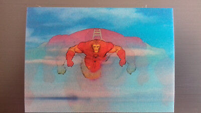 Marvel Motion Skybox 1996 - Basecard No. 8 Iron Man