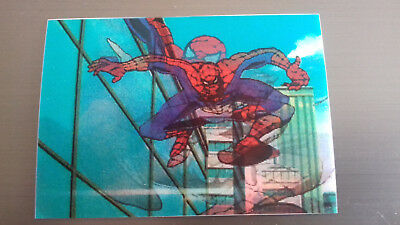 Marvel Motion Skybox 1996 - Basecard No. 14 Spider-Man