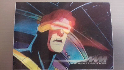Marvel Motion Skybox 1996 - Basecard No. 4 Cyclops