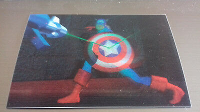 Marvel Motion Skybox 1996 - Basecard No. 25 Captain America