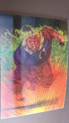Marvel Motion Skybox 1996 - Basecard No. 23 Human Torch