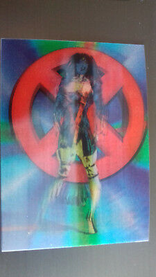 Marvel Motion Skybox 1996 - Basecard No. 21 Mystique