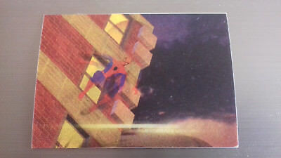 Marvel Motion Skybox 1996 - Basecard No. 28 Spider-Man
