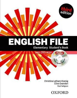 English File third edition: Elementary: Student's Book with iTu... 9780194598644