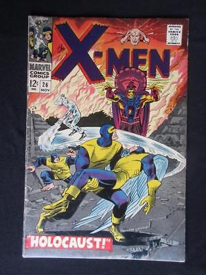 X-Men #26 MARVEL 1966 - Marvel Girl, Cyclops, Iceman, Beast, Angel, Stan Lee!!!